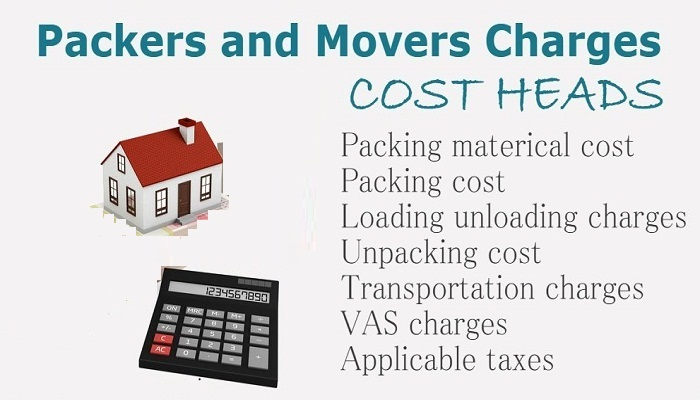 approximate Packers Movers charges