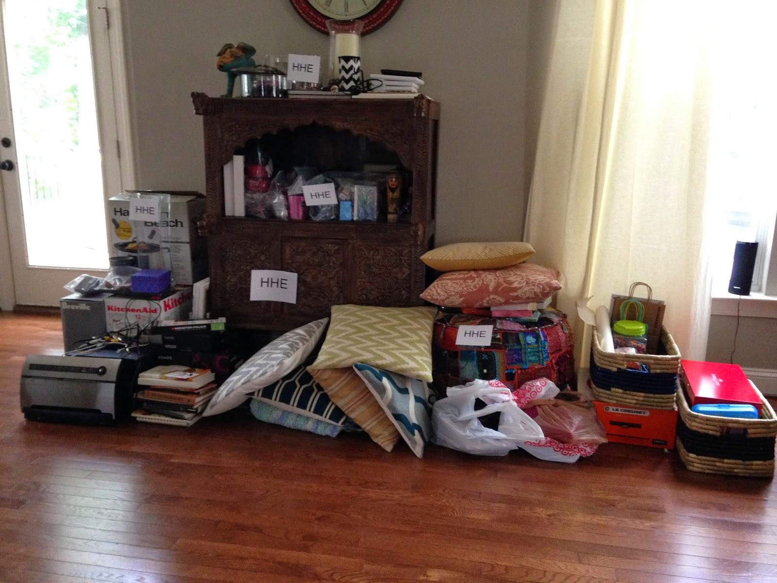 Bedroom Packing