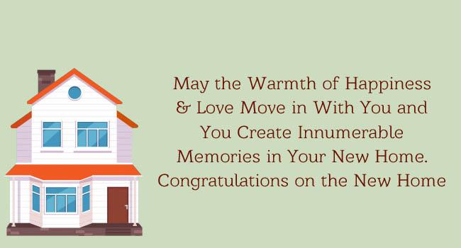housewarming greetings