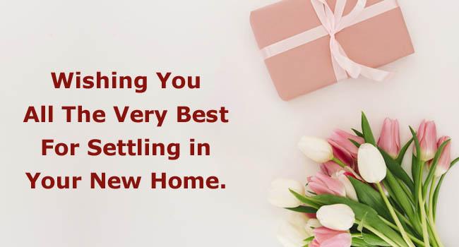Short housewarming wishes