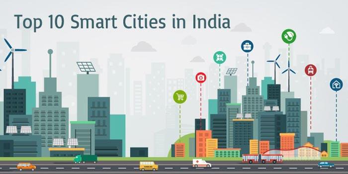 Top 10 smart cities in India