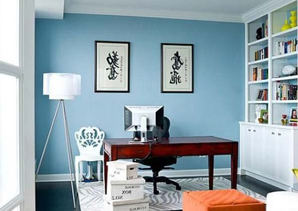 Colors of office walls