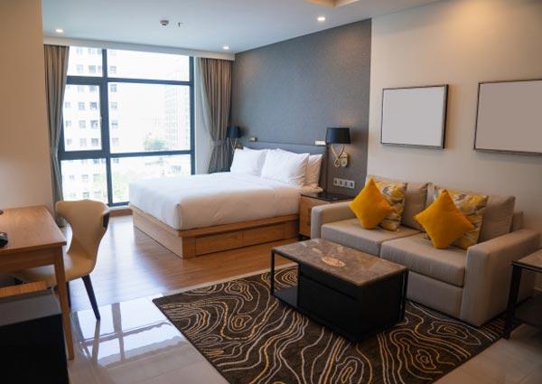 Arrange a temporary accommodation