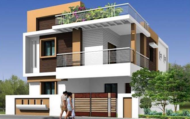 Duplex House in India