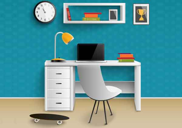 Best Wall Color Ideas for your Study Room