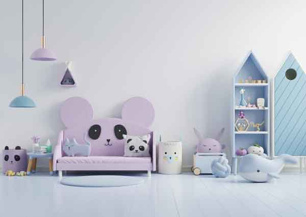 Wall color ideas for children's rooms
