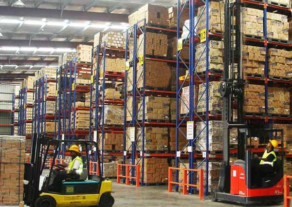 Services of Warehousing & Storage Companies