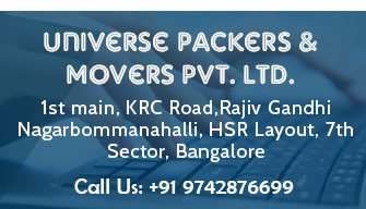 Universe Packers & Movers