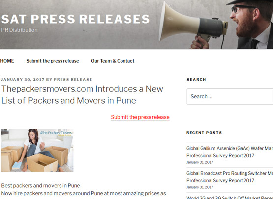 Sat Press Releases